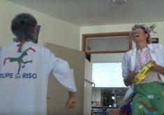 Trupe do Riso leva alegria aos hospitais. (Foto: Reprodução)