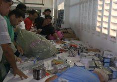 Bazar Solidário com produtos da Receita Federal(FOTO: Reprodução TV Jangadeiro)