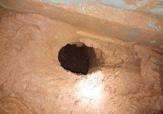 Presos fogem por túnel dentro de cela da CPPL 3(FOTO: Reprodução TV Jangadeiro)