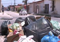 A população já teme doenças (FOTO: Reprodução/TV Jangadeiro)