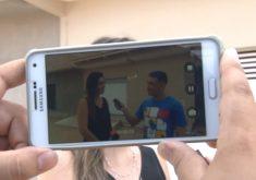 Jovem faz sucesso com vídeos na internet(FOTO: Reprodução TV Jangadeiro)