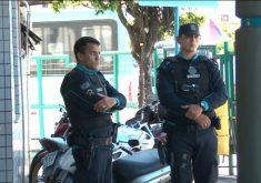 Cabines da Polícia Militar foram retiradas dos terminais de Fortaleza (FOTO: Reprodução Nordestv)