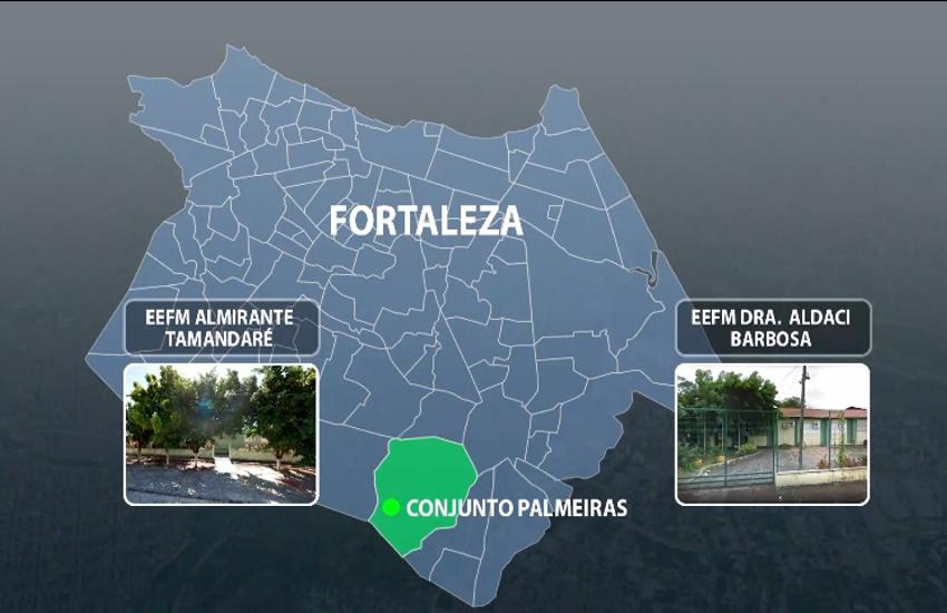Conheça o Conjunto Palmeiras, bairro onde nasceu facção criminosa cearense