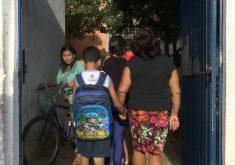 Escola volta a funcionar depois de ameaças de criminosos(FOTO: Reprodução TV Jangadeiro)