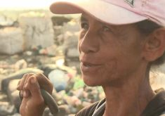 Famílias vivem em condições desumanas em lixão(FOTO: Reprodução TV Jangadeiro)