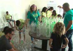 Prefeitura de quer reciclar todos resíduos da Praia de Iracema(FOTO: Reprodução Nordestv)