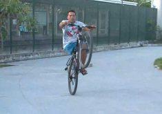 ciclista amputado
