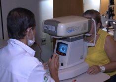 Mutirão de cirurgias de catarata em Fortaleza(FOTO: Reprodução TV Jangadeiro)