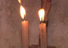 Túmulo esconde o mistério das velas acesas (FOTO: Reprodução TV Jangadeiro)