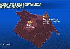 Mais de 10 mil ocorrências em Fortaleza e Região metropolitana (FOTO: Reprodução TV Jangadeiro)