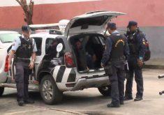 Operação policial resulta em 11 prisõesem Caucaia (FOTO: Reprodução TV Jangadeiro)