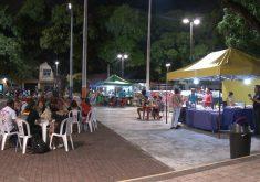 Praça da Gentilândia volta a rotina normal(FOTO: Reprodução TV Jangadeiro)