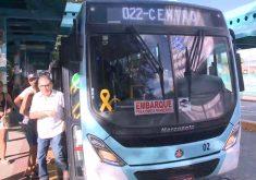 Sindiônibus registrou 2.390 assaltos a transportes coletivos em Fortaleza(FOTO: Reprodução TV Jangadeiro)