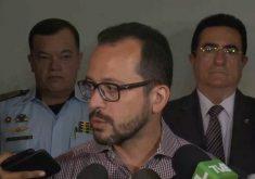 Andre Costa fala que a Polícia tem que se defender(FOTO: Reprodução TV Jangadeiro)