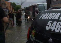 Lília foi assaltada durante uma tentativa de assalto (FOTO: Reprodução TV Jangadeiro)