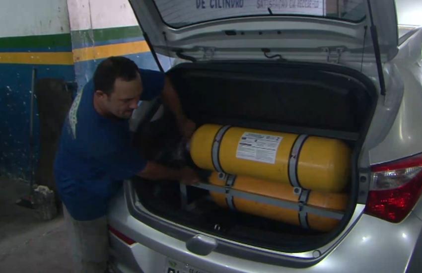 Alto preço da gasolina aumenta em 60% a instalação de GNV em veículos