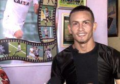 José Leonardo Verissímo brilha nos campos de futebol(FOTO: Reprodução TV Jangadeiro)