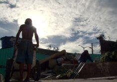 """Projeto ''E-Carroceiro"""" ajudando carroceiros em Fortaleza(FOTO: Reprodução Nordestv)"""