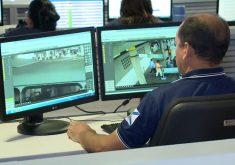 Câmeras de segurança ajuda a polícia nas investigações(FOTO: Reprodução TV Jangadeiro)