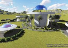 Ceará irá receber centro para estudar seres extraterrestres (FOTO: Reprodução TV Jangadeiro)