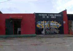 Casa de forro onde aconteceu a maior chacina do estado do Ceará(FOTO: Reprodução TV Jangadeiro)