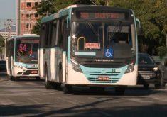 Para não ficar esperando, a solução é consultar os horários dos ônibus no app (FOTO: Reprodução/TV Jangadeiro)