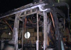 Ônibus incendiado em Fortaleza