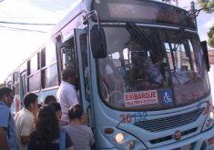 Após os ataques a ônibus, algumas rotas foram alteradas (FOTO: Reprodução TV Jangadeiro)