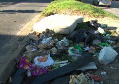 Lixo descartado nas ruas(FOTO: Reprodução Nordestv)