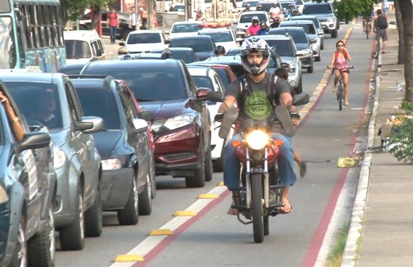 AMC registra mais de 6,4 mil infrações em ciclofaixas e ciclovias de Fortaleza