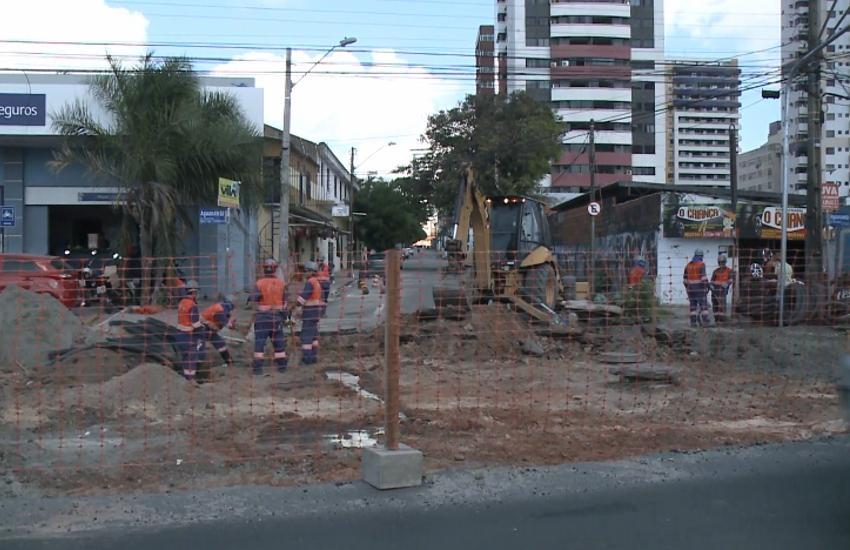 Aguanambi está com novos bloqueios no trânsito para obras de requalificação