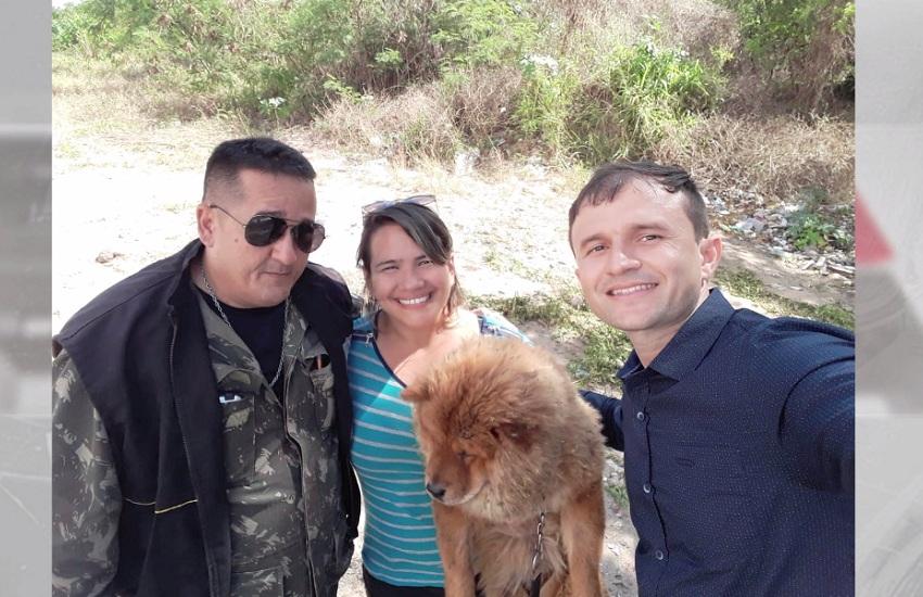 Veja vídeo emocionante de reencontro de cadela desaparecida com a dona
