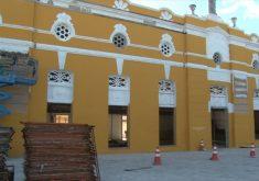 Teatro São José será entregue no mês de agosto(FOTO: Reprodução Nordestv)
