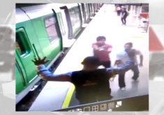 Vigilante tem arma e colete levado por assaltantes (FOTO: Reprodução TV Jangadeiro)