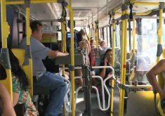 Pular a catraca de ônibus é crime e pode levar a prisão(FOTO: Reprodução TV Jangadeiro)