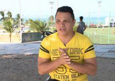 Heloilson Paiva conta da dificuldade de largar o mundo das drogas (FOTO: Reprodução TV Jangadeiro)