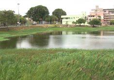 População reclamam de descasono entorno das Lagoas de Fortaleza (FOTO: Reprodução Nordestv)
