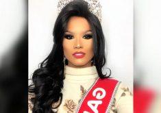 Yakira Queiroz, conquista o titulo de Miss Gay 2018 em Minas Gerais (FOTO: Reprodução TV Jangadeiro)