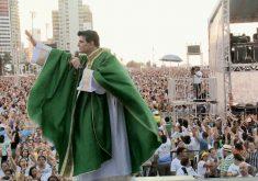 XI Evangelizar é Preciso Fortaleza com Padre Reginaldo Manzotti (FOTO: Reprodução TV Jangadeiro)