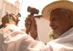 Manoel Francisco 91 anos de pura disposição (FOTO: Reprodução TV Jangadeiro)