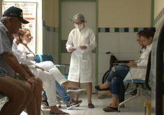 Profissionais da saúde vivem momento de insegurança(FOTO: Reprodução TV Jangadeiro)