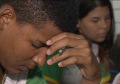 Jovens recebe oportunidade para ficarem logue do crime (FOTO: Reprodução TV Jangadeiro)