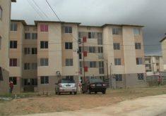 Apartamentos do minha casa minha vida em Fortaleza (FOTO: Reprodução TV Jangadeiro)