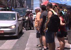 Ruas do centro de Fortaleza vão passar por requalificação (FOTO: Reprodução TV Jangadeiro)