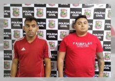 Fraude em compras virtuais: dupla de golpistas faz 50 vítimas (FOTO: Reprodução TV Jangadeiro)