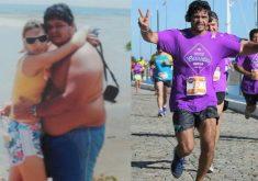 Jovem muda hábitos e perde 65 quilos (FOTO: Reprodução TV Jangadeiro)