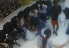 Grupo de oito mulheres vem praticando furtos em lojas (FOTO: Reprodução TV Jangadeiro)