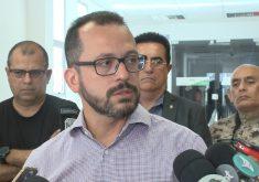 Secretário de Segurança André Consta falaque asfake news é quem motiva o medo(FOTO: Reprodução TV Jangadeiro)