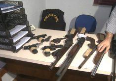 Armas, narcotráfico, confrontos entre organizações criminosas (FOTO: Reprodução TV Jangadeiro)