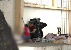 A realidade de pessoas que moram nas ruas (FOTO: Reprodução TV Jangadeiro)